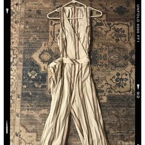 Free people jumpsuit size XS
